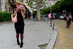 In a tangle (Spyros Papaspyropoulos) Tags: colour colourphotography color streetphotography streetphotographer street shadows light streethunters candid candidphotography fujifilmxpro1 xpro1 xf18 18mm photography lightroom sofia bulgaria balkans