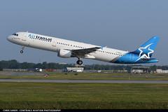 AirTransat A321 CGEZJ (Sandsman83) Tags: montreal yul cyul airplane aircraft plane airtransat airbus a321 takeoff cgezj