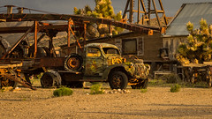 Antique Drill Rig (Jeff Sullivan (www.JeffSullivanPhotography.com)) Tags: green drilling rig truck historic mining ghost town nevada usa abandoned rural decay travel photography canon eos 5dmarkiv photos copyright jeff sullivan may 2019