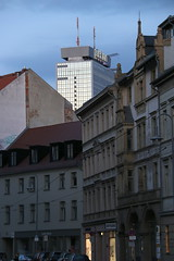 Time seems to stand still (Elbmaedchen) Tags: berlin parkinn radisson hotel berlinmitte altbau altundneu oldbuildings fassade