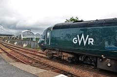 43154 (stavioni) Tags: fgw gwr first great western railway hst inter city intercity 125 high speed train diesel power car rail saltash cornwall