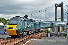 43188 (stavioni) Tags: 43188 43186 fgw gwr first great western railway hst inter city intercity 125 high speed train diesel power car rail saltash cornwall