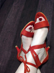 IMG_20190731_161356835~2 (eirenna_unveiled) Tags: foot feet toes legs polishedtoes polishedtoenails sandals