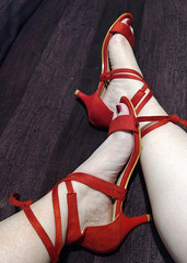 IMG_20190731_161735798~2 (eirenna_unveiled) Tags: foot feet toes legs polishedtoes polishedtoenails sandals