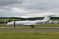 B-KCK - Gulfstream GV-SP G550 (andrewtobin888) Tags: gulfstream aberdeenairport abz bizjet