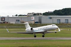 B-KCK - Gulfstream GV-SP G550 (andrewtobin888) Tags: gulfstream aberdeenairport bizjet abz