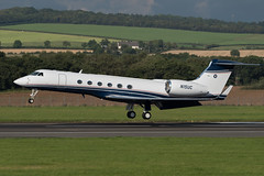 N15UC - Gulfstream G-V (andrewtobin888) Tags: gulfstream bizjet prestwick