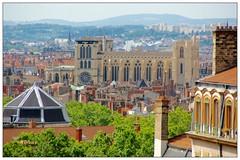 Lyon desde las alturas (mariadoloresacero) Tags: francia france lyon