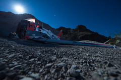 Grounded Rescue (Nocturnal Kansas) Tags: night nocturnal moon full led1 protomachines d800 nikon nevada desert longexposure nightphotography