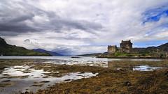 Eilean Donan Castle (Boganeer) Tags: eileandonancastle eileandonan scotland ecosse castle loch lochduich lake cloud tide shoreline shore water stone landscape unitedkingdom uk canon canoneos canon6d