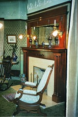 Grand Rapids  Michigan  - Ralph Voigt House and Museum  - Heritage Hill -  Period  Living Room (Onasill ~ Bill Badzo - 67 M) Tags: curtain danita delimont stock day dds fireplacefurnituregrand rapidsheritage hillhistorichouseinteriorlaceliving room mansion michigan mid westmidwestmidwestern museum nobod ynorth america opulent plant preserved red salon sofa united statesunited states americausavictorian william g robinson yellow heritage hill lumber forest travel attraction site mill drygoods store family onasill staircase wooden vintage old photo interior painting oil hallway stain glass window grand rapids mi architecture style victorian ralph voigt house kentcounty once north wyoming vase decorative washing dish