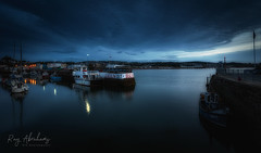 Blue Exit (RTA Photography) Tags: harbour rtaphotography paignton sea dawn bluehour sky longexposure boats wall water nikon d750 nikkor 1835 morning outdoors nature coast