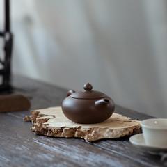 """Yixing """"Bian Zhu"""" Teapot  Capacity around 100CC Made from """" Zi Ni"""" Mud (John@Kingtea) Tags: yixing """"bian zhu"""" teapot capacity around 100cc made from zini mud"""