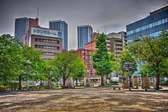月島第二児童公園 (jun560) Tags: 東京 勝どき 勝鬨橋 築地大橋 hdr