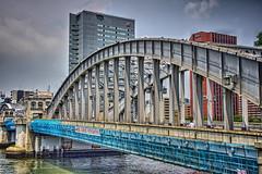 勝鬨橋 V (jun560) Tags: 東京 勝どき 勝鬨橋 築地大橋 hdr