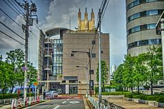 中央区立セレモニーホール (jun560) Tags: 東京 勝どき 勝鬨橋 築地大橋 hdr