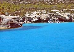 Голубая лагуна (lvv1937) Tags: море берег растительность катера