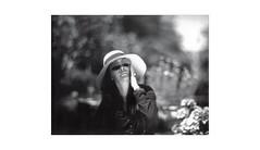 (WOGO*) Tags: aero ektar 178mm graflex super d polaroid 665 film bw instant portrait bokeh