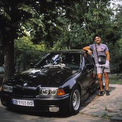 BMW E36 (dmitriy.marichev) Tags: bmw bmw3series color classic film car rollei rolleiflex slide velvia positive oldcar 50 fujichrome planar rvp e36 28gx bmwe36 rolleirolleiflex28gx fujifilmfujichromevelvia50professionalrvp50color