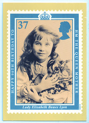 Lady Elizabeth Bowes-Lyon (pepandtim) Tags: postcard old early nostalgia nostalgic lady elizabeth bowes lyon royal mail stamp card series judges postcards east sussex 33leb56