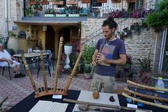 The flutes factor (Chemose) Tags: sony ilce7m2 alpha7ii mâconnais bourgogne burgundy southburgundy bourgognedusud france chânes summer été juillet july musicien musician facteur factor flûte flute village