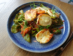 Halloumi Salad at Plau Bar Preston (Tony Worrall) Tags: images photos photograff things uk england food foodie grub eat eaten taste tasty cook cooked iatethis foodporn foodpictures picturesoffood dish dishes menu plate plated made ingrediants nice flavour foodophile x yummy make tasted meal nutritional freshtaste foodstuff cuisine nourishment nutriments provisions ration refreshment store sustenance fare foodstuffs meals snacks bites chow cookery diet eatable fodder ilobsterit instagram forsale sell buy cost stock plau pub bar inn pubfood cheese salad