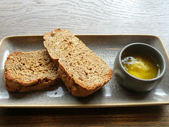 Toasted Beer & Treacle Bread with Honey & Lavender Butter at the Plau Bar Preston (Tony Worrall) Tags: images photos photograff things uk england food foodie grub eat eaten taste tasty cook cooked iatethis foodporn foodpictures picturesoffood dish dishes menu plate plated made ingrediants nice flavour foodophile x yummy make tasted meal nutritional freshtaste foodstuff cuisine nourishment nutriments provisions ration refreshment store sustenance fare foodstuffs meals snacks bites chow cookery diet eatable fodder ilobsterit instagram forsale sell buy cost stock plau pub bar inn pubfood
