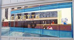 Libby's 2 (wwimble) Tags: libbys diner mural lafayette open24hours abrahamlincoln gunsnroses fridakahlo lafayettetheater