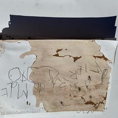 el papel (yanomano_) Tags: art artwork kunst bellasartes plastic world microplastic paper capdepera calaagulla calaratjada mallorca blue azul yanomano janseibel waste findings beach