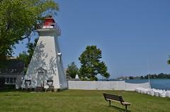 Niagara River Range Rear Lighthouse, Niagara on the Lake, ON (Snuffy) Tags: niagarapumphouse niagaraonthelake ontario canada niagarariverrangerearlighthouse musictomyeyes