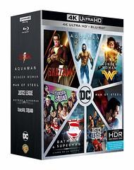 Coffret intégral DC Extended Universe Blu-ray 4K (Shady_77) Tags: film bluray bluray4k dceu dc dcextendeduniverse superman batman wonderwoman aquaman shazam suicidesquad justiceleague