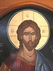 Spili, Crete, Greece (east med wanderer) Tags: crete spili village church painting religious christian greece island