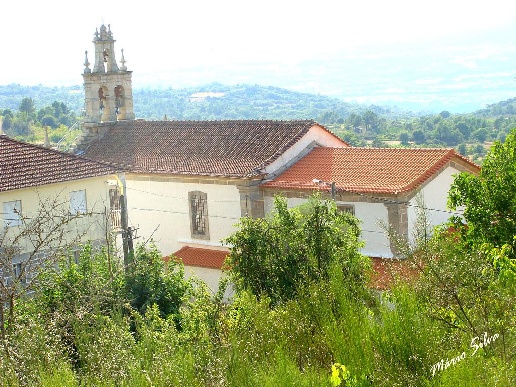 Águas Frias (Chaves) - ... outra visão da Igreja Matriz ...