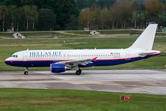 D-AXLC (PlanePixNase) Tags: hannover aircraft airport planespotting haj eddv langenhagen hellasjet hellas airbus 320 a320