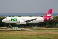LZ-MDT (PlanePixNase) Tags: hannover aircraft airport planespotting haj eddv langenhagen airvia airbus 320 a320