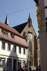 St. Maria de Rosario et St. Regiswindis, Gerolzhofen (palladio1580) Tags: bayern franken unterfranken gerolzhofen kirche gotik kirchturm stadtkirche