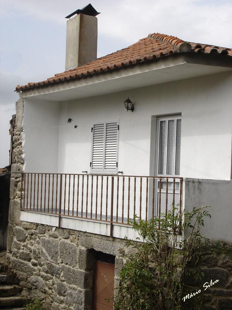 Águas Frias (Chaves) - ... uma casa na Aldeia na Rua da Paz ...