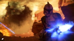 CLONE GEONOSIS-HEAVY-TWO (Skyvlader) Tags: star wars gaming captures screenshoots screen geonosis padmé padme clone clones iden versio inferno squad wallpaper 1080p 4k grevious jango fett digital best capture real realism photography photo ansel nvidia geforce gtx rtx ea dice battlefront 2017 2019