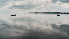 Lammefjorden - 2 (Poul-Werner) Tags: portra160 danmark denmark holbækfjord kongsøre lammefjorden sjælland zealand 53mm xf35mm landscape nature sommerferie summerbreak summervacation travel visualpoetry