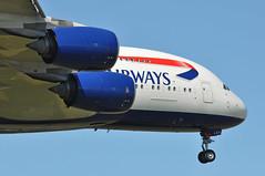 BA0268 LAX-LHR (A380spotter) Tags: approach landing arrival finals shortfinals threshold belly undercarriage landinggear nosegear airbus a380 800 800igw msn0163 gxleh internationalconsolidatedairlinesgroupsa iag britishairways baw ba ba0268 laxlhr runway09l 09l london heathrow egll lhr