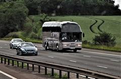 Reaneys Neoplan Starliner Coach, M1 Motorway, England. (ManOfYorkshire) Tags: reaneys galway ireland eire neoplan starliner bus coach m1 motorway england touring 01g17020 y7jmj h3efa reaney luxury mercedes