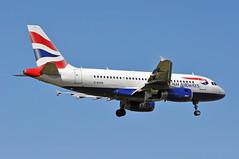 BA0339 BIA-LHR (A380spotter) Tags: approach landing arrival finals shortfinals threshold airbus a319 100 geupn toflytoserve emblem achievement crest coatofarms internationalconsolidatedairlinesgroupsa iag britishairways baw ba ba0339 bialhr runway09l 09l heathrow egll lhr