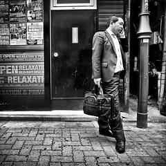 shinjuku, japan (michaelalvis) Tags: asia bw blackandwhite buildings candid city citylife cellphones pedestrian fujifilm flickr fujicolor japan japon japanese japanesesigns monochrome mono nihon nippon peoplestreet portrait people peoplestreets photography streetphotography streetlife street signs travel tokyo urban walking x70 happyplanet asiafavorites