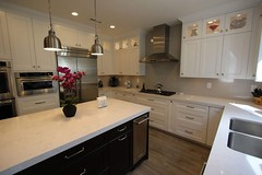 #DesignBuild #KitchenRemodel with Aplus Custom white #Cabinets  #HardwoodFlooring in #HuntingtonBeach #OrangeCounty https://www.aplushomeimprovements.com/portfolio_page/137-huntington-beach-transitional-design-build-kitchen-remodel-with-custom-cabinets/ (Aplus Interior Design & Remodeling) Tags: kitchenremodel kitchen kitchenisland kitchenrenovation kitchencabinets kitchenandbath orangecounty oc orange contracting construction transitionalstyle transitionaldesign livingroom luxury