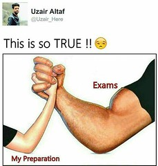 True !! (gagbee18) Tags: aww exams preparation students