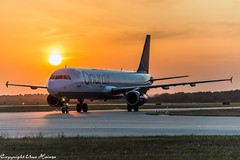 OnurAir TC-OBY Sunrise at HAJ 24072019 (U. Heinze) Tags: sunrise sonnenuntergang haj hannoverlangenhagenairporthaj aircraft airlines airways airplane sky himmel eddv