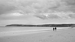 Aberdaron Beach (I M Roberts) Tags: aberdaron beachscene gwynedd northwales bw fujix100s