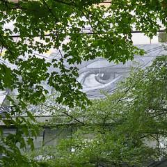 surveillance (Jim_ATL) Tags: street atlanta eye art wall mural surreal hopare