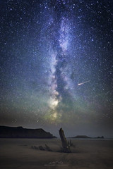 Gnomon (AMBIENTLIGHT.PHOTOGRAPHY) Tags: helvetia wreck shipwreck worm'shead rhossili rhossilibay swansea gower southwales wales britain uk milkyway astro astrophotography space stars galaxy galacticcore galacticcentre