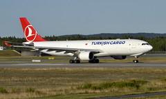 Turkish TC-JOO,  OSL ENGM Gardermoen (Inger Bjørndal Foss) Tags: tcjoo turkish airbus a330 cargo osl engm gardermoen